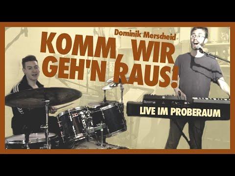 Komm, wir geh'n raus! (live im Proberaum) ♫ Musik für die ganze Familie ♫ Lieder für Kinder Deutsch