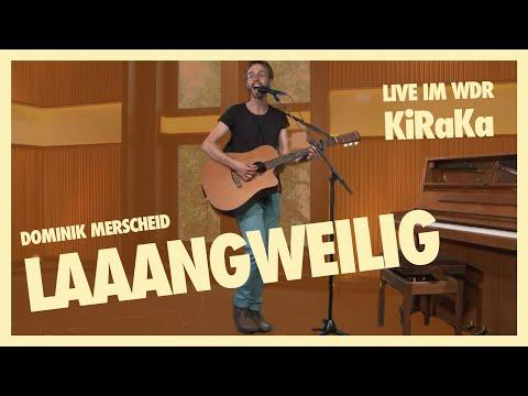 Laaangweilig (live im WDR KiRaKa) ♫ Ausschnitt ♫ Musik für Kinder und Familien ♫ Langweilig Lied